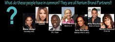 """New Celebrities that are NERIUM Brand Partners"""". FInd out more about the products and the biz opportunity at www.wrinkleresults.nerium.com"""