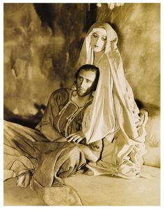 Basil Rathbone in the stage play Judas (Longacre Theatre, 1929)