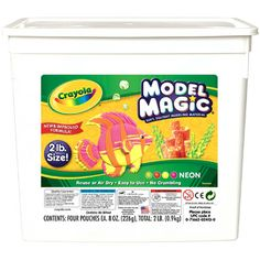 Crayola 2lb Model Magic - Neon