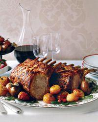 Citrus-Marinated Pork Rib Roast Recipe from Food & Wine