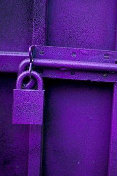 Padlock it purple.