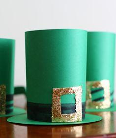 craft kids, leprechaun hat, decoration crafts, irish crafts for kids, st patricks day, papers, paper hats, craft ideas, stpatrick