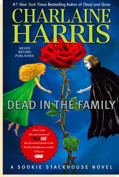 I LOVE the Sookie Stackhouse books by Charlaine Harris.  Yes, I like the True Blood tv show, but not nearly as much as I adore the books!  As with most tv shows/movies based on books- why can't they just stick to the original storylines?