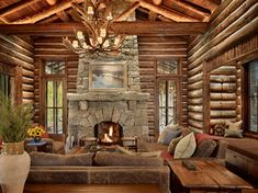 Paradise Valley Residence rustic-living-room