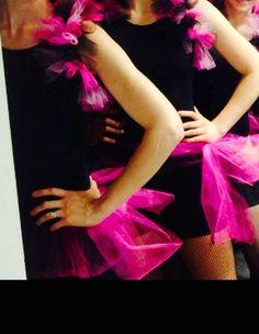 Matching shrug and bustle - jazz dance costume  Dancemeboutique.com
