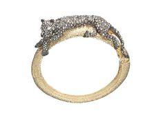 Alexis Bittar - Siyabona Gold Panther Hinge Cuff Bracelet