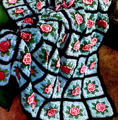 Charleston Garden Afghan | Free Vintage Pattern