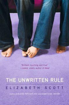 The Unwritten Rule by Elizabeth Scott