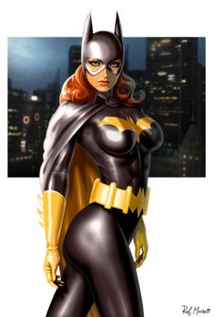 Batgirl by Raffaele Marinetti