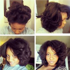 Nightly routine to preserve my curls without heat :0) 1. Add a light oil to the ends (kills frizz) 2. Pin curl the top 3. Wrap the back around to the front. 4. Type head scarf around wrapped part only. 5. Put bonnet over pin curls. 6 (next day) comb out wrapped part. 7. Take down the pin curls and fluffy out. 8. BE GONE WITH THE WIND FABULOUS! *twirls, twirls*