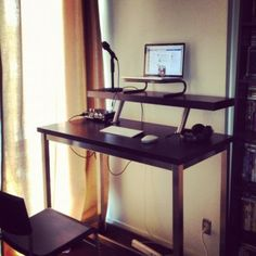 how to build a standing desk ikea