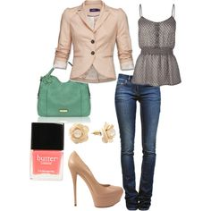 Classy Casual, created by saratoeppler on Polyvore