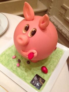A delicious Pig cake !