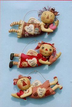 many cloth doll happy heart patterns