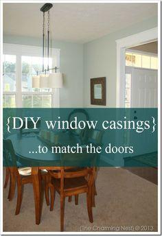 window casings