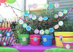 Ice cream party idea!