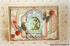 Send love with Sweet Sentiments! Card by Romy Veul #graphic45 #cardmaking