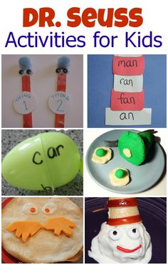 12 Fun Dr. Seuss Activities for Kids (guest post) from @Matty Chuah Measured Mom