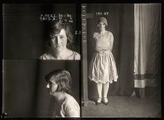 Mugshots from the 1920s: P. Neill, 1930, arrested for cocaine possession.