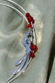 Phoenix Rising Necklace by Phantasmagoricum on Etsy, $17.00  Fawkes, anyone?