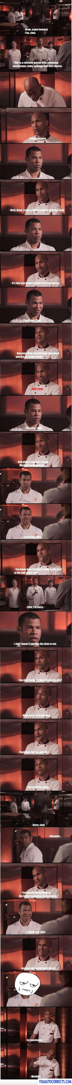 Masterchef key and peele HAHAHAHAHAHA they are geniuses.