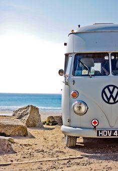 Little VW camper van