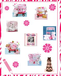 Baby Girl Gift Ideas on Kaboodle!  http://www.storkbabygiftbaskets.com/gifts-for-baby-girl.html