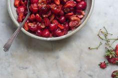 Red Fruit Salad with Coriander and Lemon Zest | 101 Cookbooks