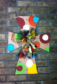 Personalized/Custom Wooden Cross for landlor by paintchic on Etsy, $35.00
