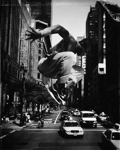 parkour, freerun, movement, art, white, tomasz gudzowati, running, black, photographi