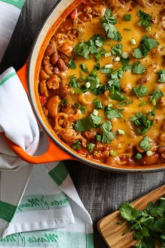 One Pot Cheesy Turke