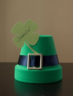 St. Patrick's Day place card