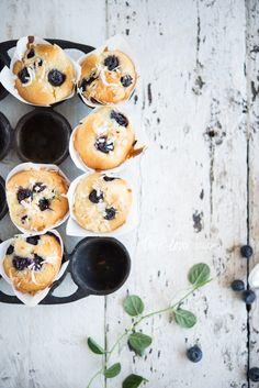 Lemon And Blueberry Mini Muffins