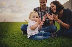 1 year old family photos - ©Ryan Flynn Photography