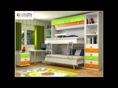 Como Amueblar El Dormitorio de tus Hijos con www.camas-abatibles.net | V...