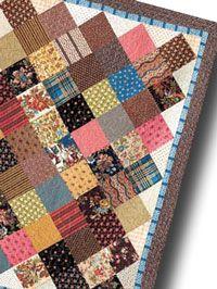 Kaye's Scrap Squares Free Quilt Pattern