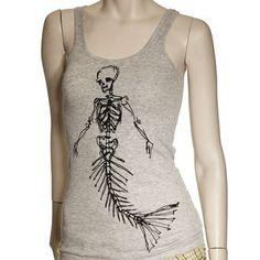 Dead Mermaid Rib Tank Womens, $20, now featured on Fab.