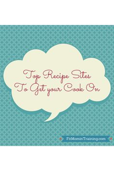 Top 5 Recipe sites to check out.