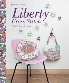 books, liberti cross, le berr, crossstitch, helen le