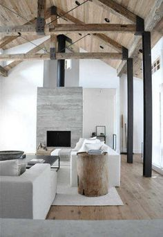 Architectural Elements: Amazing Exposed Timber Beams & Trusses At Home
