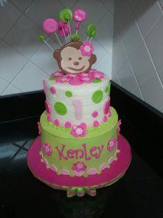 Mod Monkey cake - how cute!?!