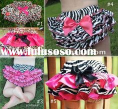 Items similar to Ruffle Bloomers / Diaper cover Pattern