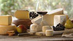 Wine and cheese pairing - so yummy!