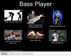 Being a bass player
