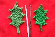 Holly Leaf tutorial