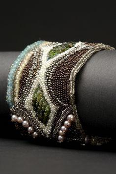 gutierrez jewelri, moandrea gutierrez, bead embroideri