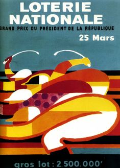 1972 la loterie nationale, Bernard Villemot
