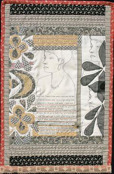 Slavery Quilt by Susan McEntee Comeaux slave quilt