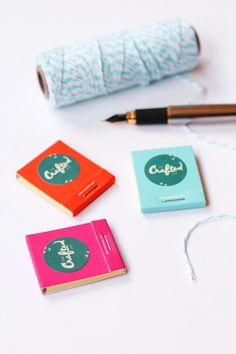 DIY Custom Mini Matchbooks | The Crafted Life