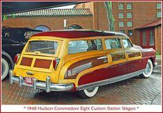 1948 Hudson Commodore woodie